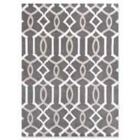 KAS Allure Gramercy 7'7 x 10'10 Area Rug in Taupe