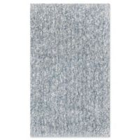 KAS Bliss Solid Shag 7'6 x 9'6 Area Rug in Slate