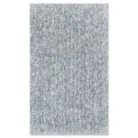 KAS Bliss Solid Shag 9' x 13' Area Rug in Slate