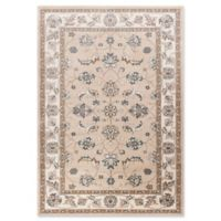 KAS Avalon Mahal 5'3 x 7'7 Area Rug in Beige/Ivory