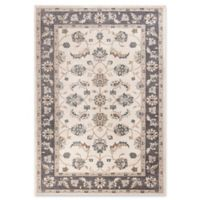 KAS Avalon Mahal 5'3 x 7'7 Area Rug in Ivory/Grey