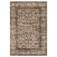 KAS Courtyard Crete 3'3 x 4'7 Area Rug in Taupe