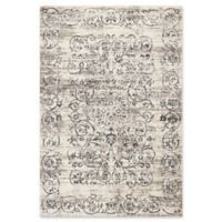 KAS Courtyard Crete 7'10 x 11'2 Area Rug in Ivory/Grey