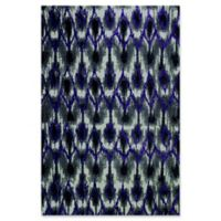 KAS Horizon Allure 7'7 x 10'10 Area Rug in Grey/Purple