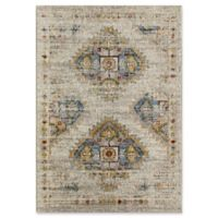 Rugs America Dunia 5' X 7' Powerloomed Area Rug in Cream
