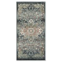 """Rugs America Sela Transitional 2'2"""" X 4' Powerloomed Accent Rug in Blue"""