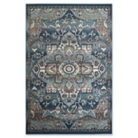 Rugs America Sela Transitional 5' X 7' Powerloomed Area Rug in Blue