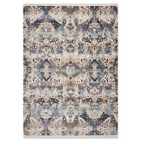 KAS Papillon Syria 5'3 x 7'10 Area Rug in Blue