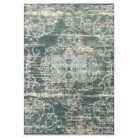KAS Crete Traditions 5'3 x 7'7 Area Rug in Slate