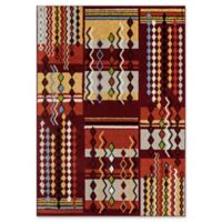 Rugs America Cici 8' X 10' Powerloomed Area Rug in Red