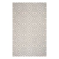 KAS Eternity Escape 2'3 x 3'9 Accent Rug in Sand/Blue