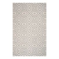 KAS Eternity Escape 5' x 8' Area Rug in Sand/Blue