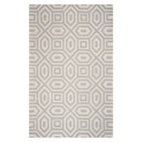 KAS Eternity Escape 8' x 10'6 Area Rug in Sand/Blue