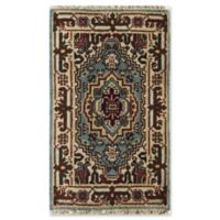Rugs America Ciro 4' X 6' Hand-Knotted Area Rug in Blue