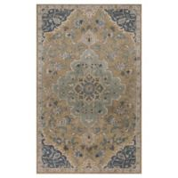 KAS Samara Imperial 3'3 x 5'3 Handcrafted Area Rug in Taupe