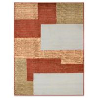Rugs America Cali 8' X 10' Powerloomed Area Rug in Beige
