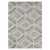 KAS Monterrey Elements 3'3 x 5'3 Area Rug in Grey