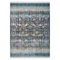 KAS Papillon Charisma 3'3 x 4'11 Accent Rug in Turquoise