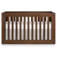 evolur™ Maddox 5-in-1 Convertible Crib in Toffee/Brushed White