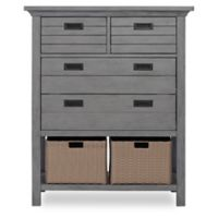 evolur™ Waverly 4-Drawer Tall Chest in Rustic Grey