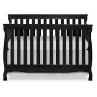 Dream on Me Keyport 5-in-1 Convertible Crib in Black