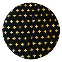 Bambella Designs Crosses Play Mat in Gold