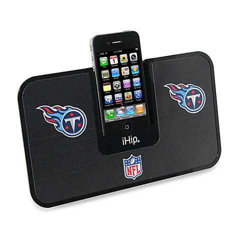 NFL Tennessee Titans iHip® iDock Portable Stereo System