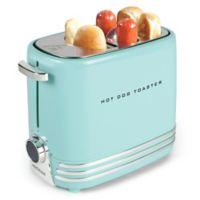 Nostalgia™ 2-Slot Hot Dog Toaster in Aqua
