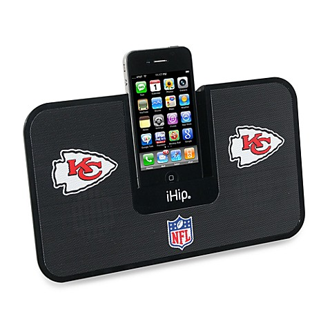 NFL Kansas City Chiefs iHip® iDock Portable Stereo System