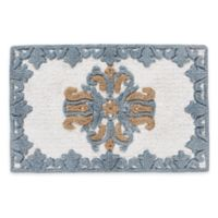 "J. Queen New York™ Colette 30"" x 20"" Bath Rug in Blue"
