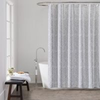 Lamont HomeTM Aurora Shower Curtain In Grey White
