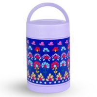 Vera Bradley® Rose Ditsy Travel Soup Mug in Purple