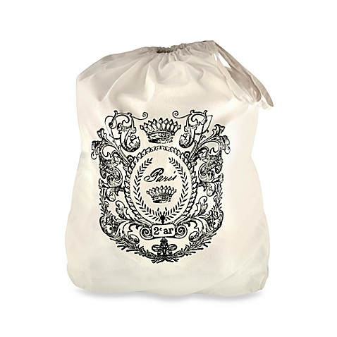 Park B. Smith® Cotton Paris Postage Laundry Bag