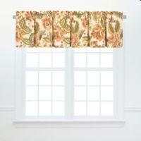 Amelia Floral Ruffled Window Valance Pair