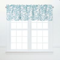 Cora Window Valance in Blue (Set of 2)