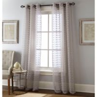 Payton 84-Inch Grommet Window Curtain Panel Pair in Grey