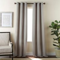 Dean 84-Inch Grommet Window Curtain Panel Pair in Taupe
