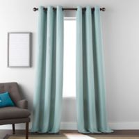 Dean 84-Inch Grommet Window Curtain Panel Pair in Mineral