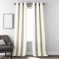 Dean 84-Inch Grommet Window Curtain Panel Pair in Ivory