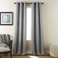 Dean 84-Inch Grommet Window Curtain Panel Pair in Grey