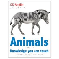 "Penguin Random House Dk Braille ""Animals Knowledge You Can Touch"" Book"