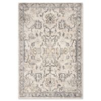 KAS Hue Farrah 3'3 x 4'11 Accent Rug in Ivory