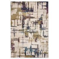 KAS Cityscape 5'3 x 7'7 Area Rug in Ivory