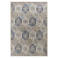 KAS Seville Mosaic 3'3 x 4'11 Accent Rug in Pewter