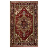 Rugs America Jira 8' X 10' Hand-Knotted Area Rug in Burgundy