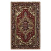 Rugs America Jira 9' X 12' Hand-Knotted Area Rug in Burgundy