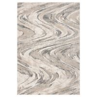 KAS Groove 3'3 x 4'11 Accent Rug in Natural