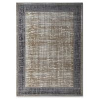 Rugs America Laurel Transitional Vintage 8' X 10' Powerloomed Area Rug in Gold