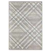 Rugs America Tyson Quiston 5' X 7' Powerloomed Area Rug in White