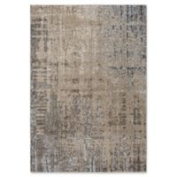 """Rizzy Home Abstract 7'10"""" X 9'10"""" Powerloomed Area Rug in Beige"""